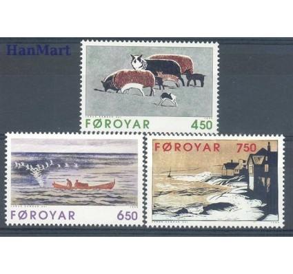 Znaczek Wyspy Owcze 1996 Mi 305-307 Czyste **