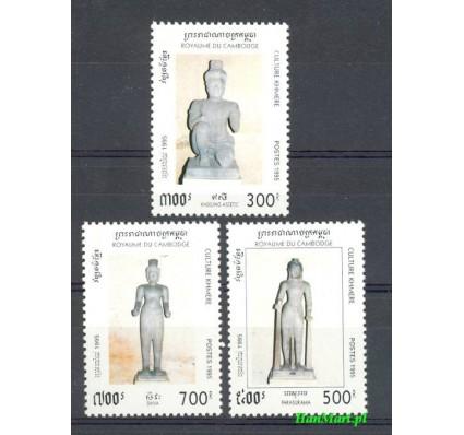 Znaczek Kambodża 1995 Mi 1508-1510 Czyste **