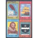 Saint Kitts 1985 Mi 168-171 Czyste **