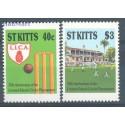 Saint Kitts 1988 Mi 233-234 Czyste **
