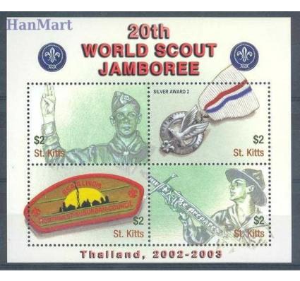 Znaczek Saint Kitts 2002 Mi 677-680 Czyste **
