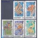 Guernsey 1989 Mi 465-469 Czyste **