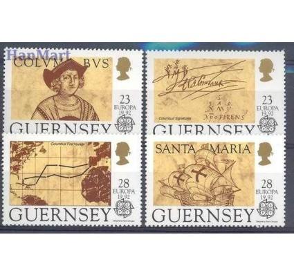 Znaczek Guernsey 1992 Mi 549-552 Czyste **