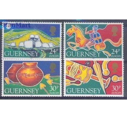 Znaczek Guernsey 1994 Mi 635-638 Czyste **