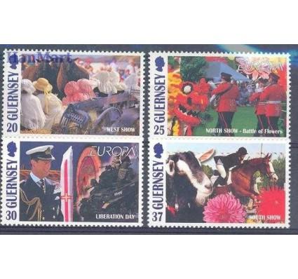 Znaczek Guernsey 1998 Mi 782-785 Czyste **