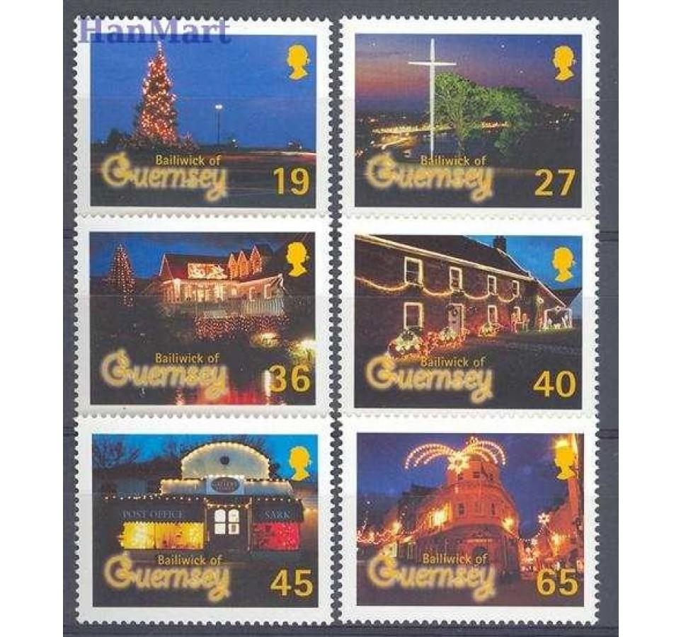 Guernsey 2001 Mi 907-912 Czyste **