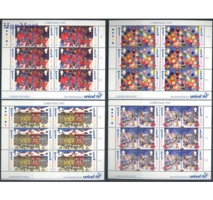 Znaczek Guernsey 1995 Mi ark 682-689 Czyste **