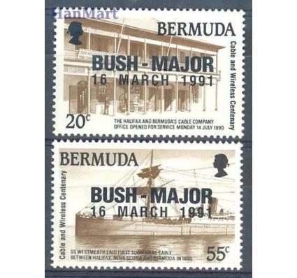 Znaczek Bermudy 1991 Mi 594-595 Czyste **