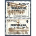 Bermudy 1991 Mi 594-595 Czyste **