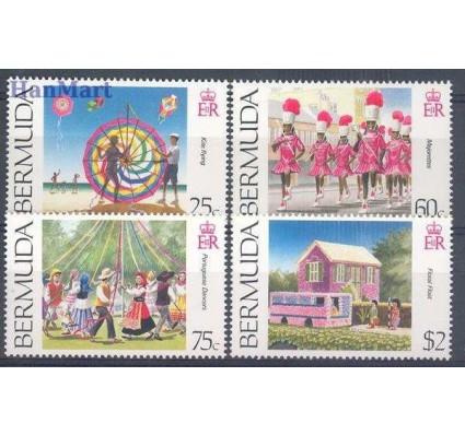 Znaczek Bermudy 1995 Mi 679-682 Czyste **