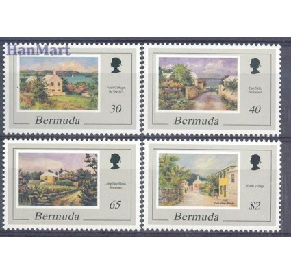 Znaczek Bermudy 1998 Mi 739-742 Czyste **