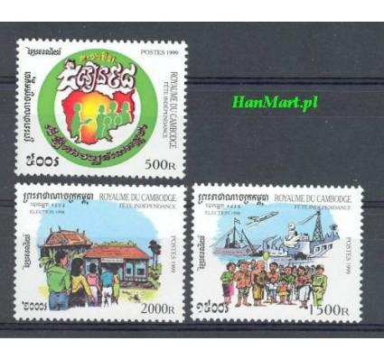 Znaczek Kambodża 1999 Mi 1987-1989 Czyste **