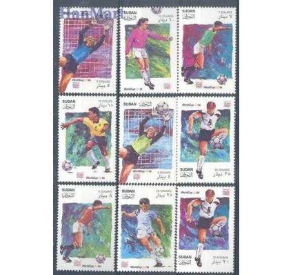 Znaczek Sudan 1995 Mi 481-489 Czyste **