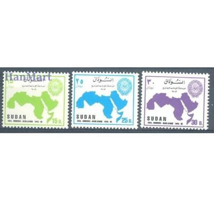 Znaczek Sudan 1995 Mi 495-497 Czyste **