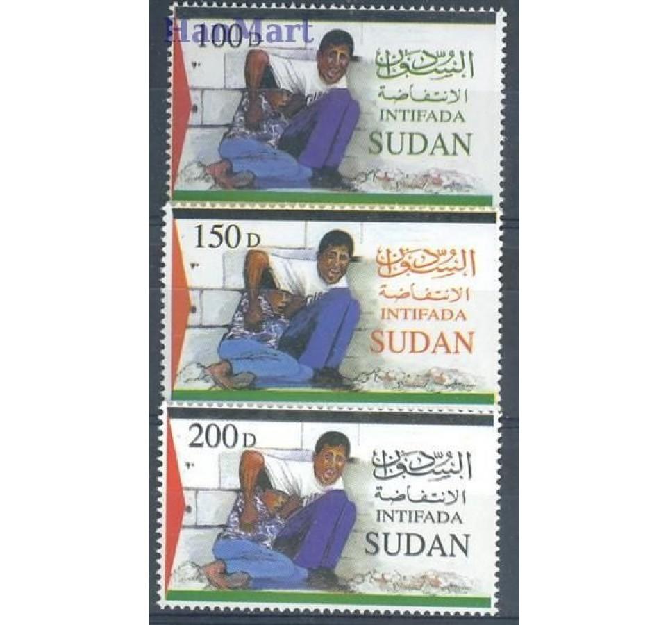 Sudan 2002 Mi 555-557 Czyste **