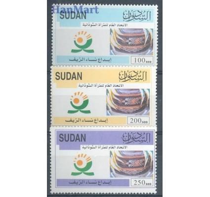 Znaczek Sudan 2004 Mi 585-587 Czyste **