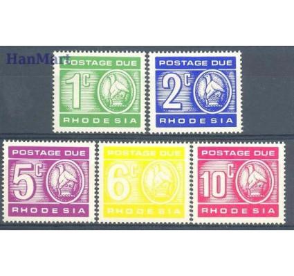 Znaczek Rodezja 1970 Mi 11-15 Czyste **