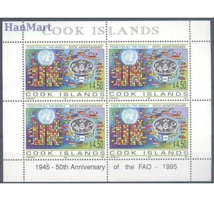Znaczek Wyspy Cooka 1998 Mi ark 1441 Czyste **