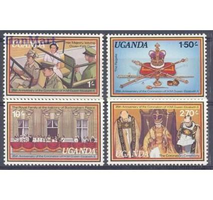 Znaczek Uganda 1979 Mi 195-198 Czyste **