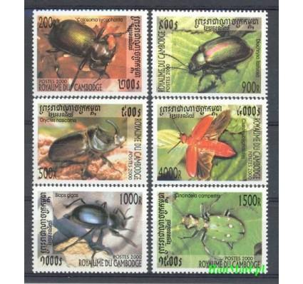Kambodża 2000 Mi 2033-2038 Czyste **