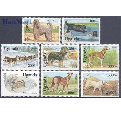 Znaczek Uganda 1993 Mi 1212-1219 Czyste **