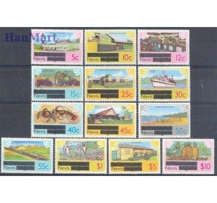 Znaczek Nevis 1980 Mi 25-37 Czyste **
