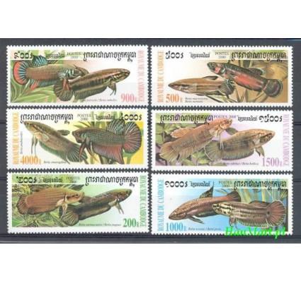 Znaczek Kambodża 2000 Mi 2068-2073 Czyste **
