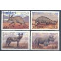 Zambia 1988 Mi 460-463 Czyste **