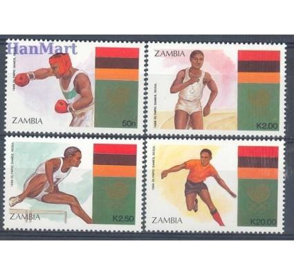 Znaczek Zambia 1988 Mi 464-467 Czyste **