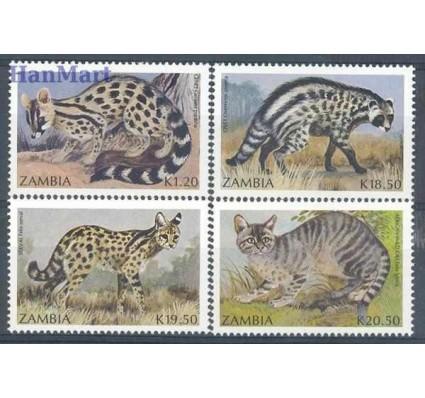 Znaczek Zambia 1991 Mi 540-543 Czyste **