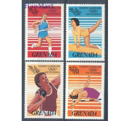 Znaczek Grenada 1986 Mi 1538-1541 Czyste **