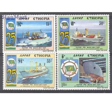Znaczek Etiopia 1989 Mi 1327-1330 Czyste **