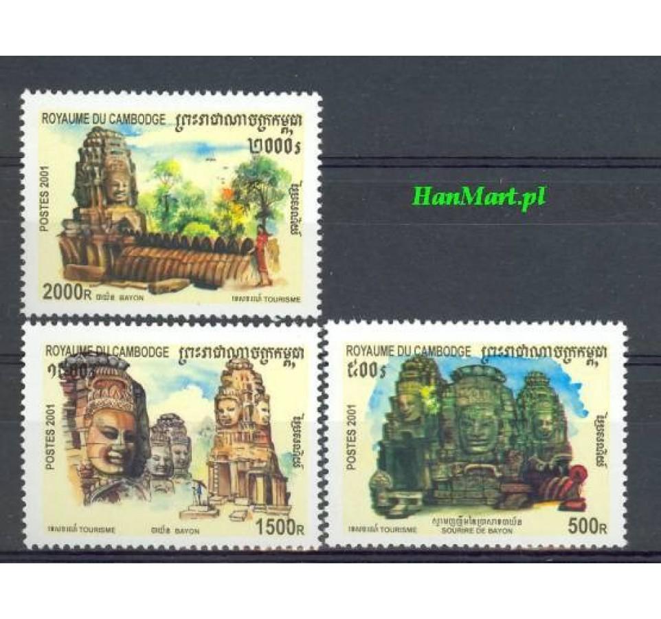 Kambodża 2001 Mi 2208-2210 Czyste **