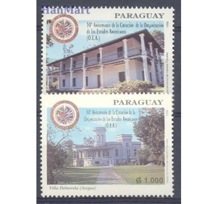 Znaczek Paragwaj 1998 Mi 4771-4772 Czyste **