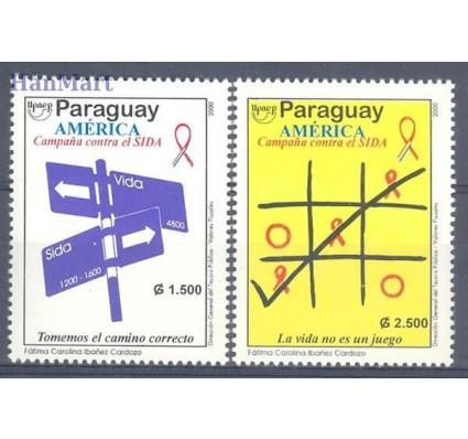 Znaczek Paragwaj 2000 Mi 4830-4831 Czyste **