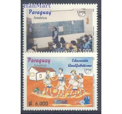 Znaczek Paragwaj 2002 Mi 4887-4888 Czyste **