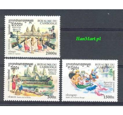 Kambodża 2001 Mi 2244-2246 Czyste **