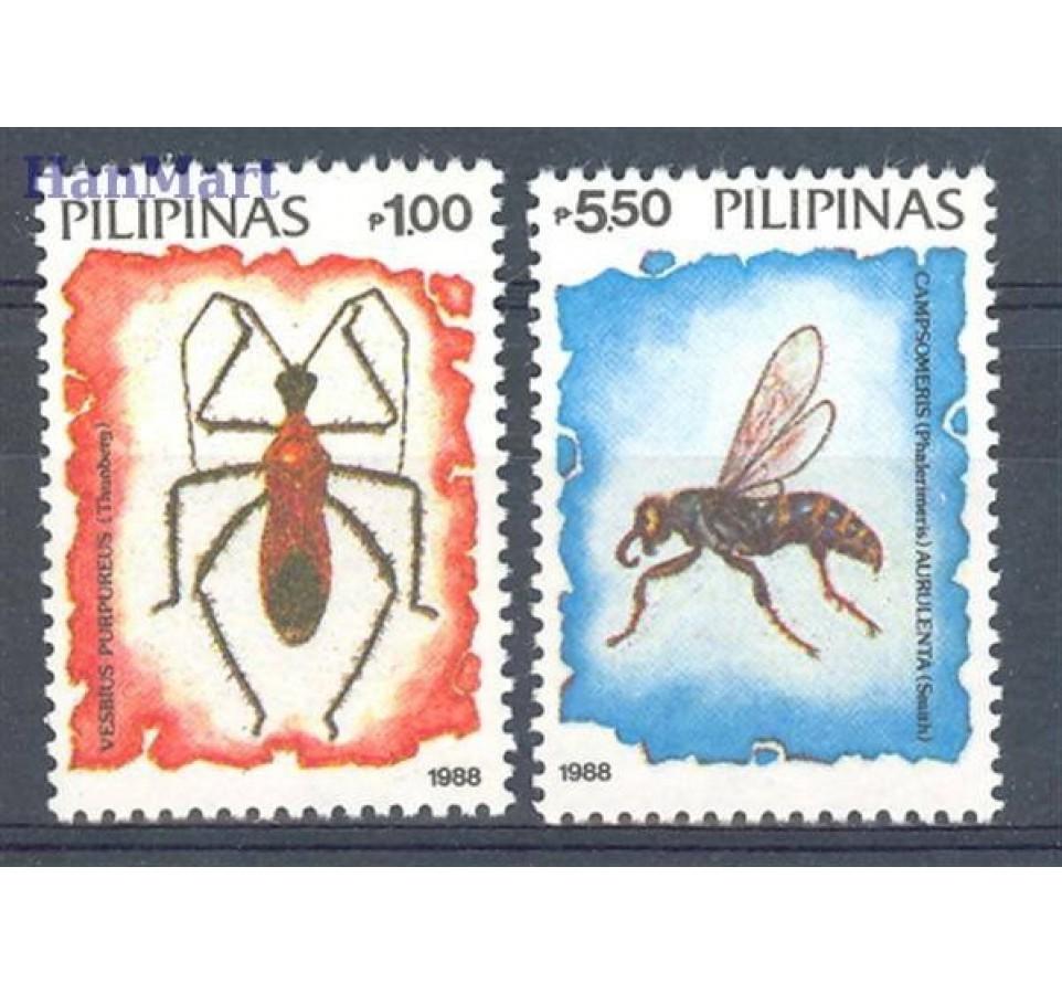 Filipiny 1988 Mi 1849-1850 Czyste **