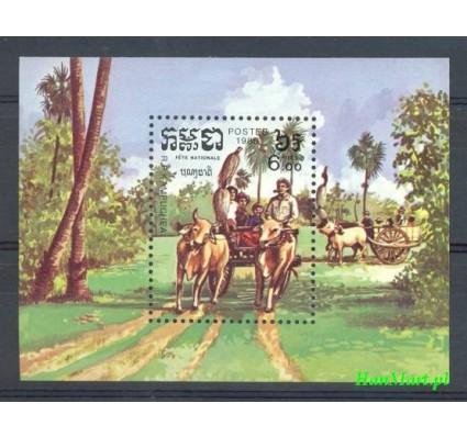 Znaczek Kambodża 1985 Mi bl 141 Czyste **
