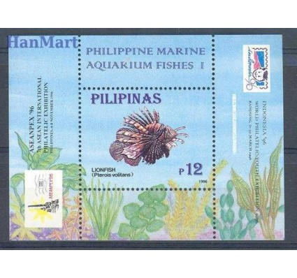 Znaczek Filipiny 1996 Mi bl 95 Czyste **