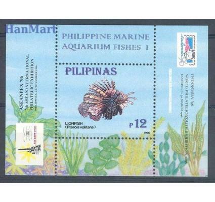 Znaczek Filipiny 1996 Mi bl 95I Czyste **