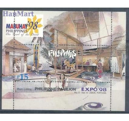 Znaczek Filipiny 1998 Mi bl 120 Czyste **