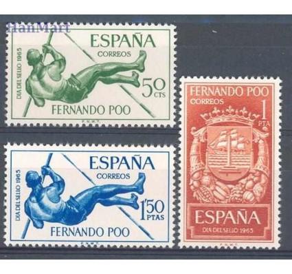 Znaczek Fernando Poo / Bioko 1965 Mi 241-243 Czyste **