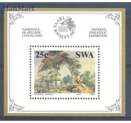 Znaczek Afryka Południowo-Zachodnia 1987 Mi bl 8 Czyste **