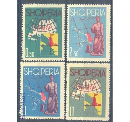 Znaczek Albania 1962 Mi 683-686 Czyste **