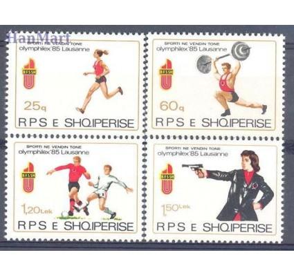 Znaczek Albania 1985 Mi 2250-2253 Czyste **