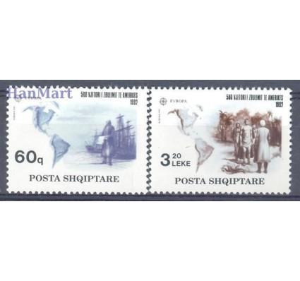 Znaczek Albania 1992 Mi 2510-2511 Czyste **