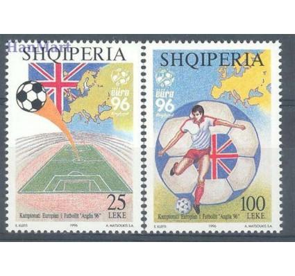 Znaczek Albania 1996 Mi 2591-2592 Czyste **