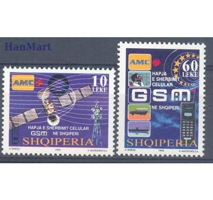 Znaczek Albania 1996 Mi 2593-2594 Czyste **