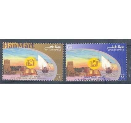 Znaczek Katar 2001 Mi 1182-1183 Czyste **